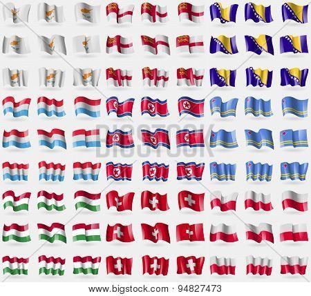 Cyprus, Sark, Bosnia And Herzegovina, Luxembourg, Korea North, Aruba, Hungary, Switzerland, Poland.