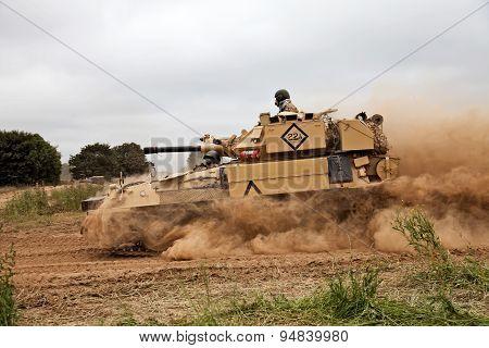 Tank dust