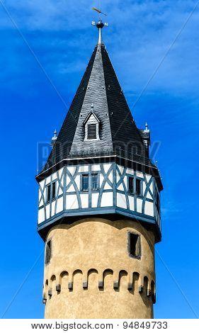 The Bockenheimer Warte in Frankfurt am Main, Germany