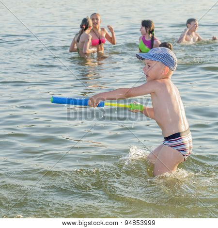 Children And Teenagers Love Summer