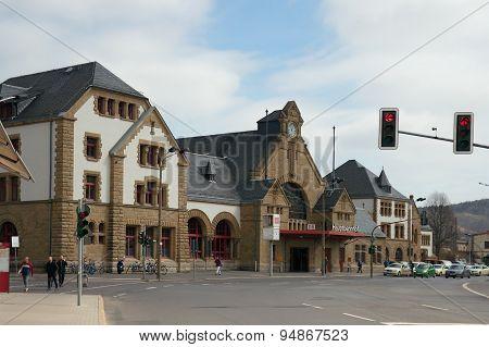 Main Station, Eisenach, Germany