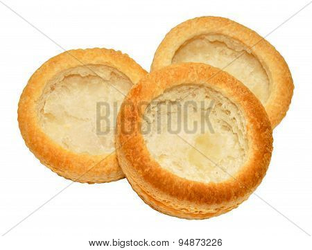 Empty Puff Pastry Vol Au Vent Cases
