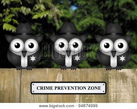 Crime prevention Zone USA