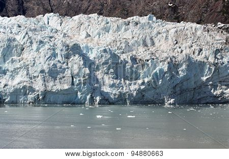 Beautiful Glacier In Glacier Bay, Alaska