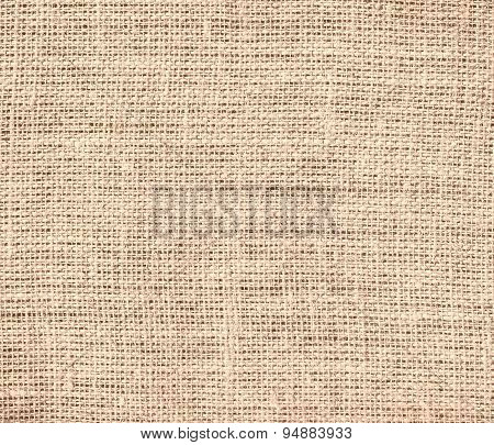 Desert sand burlap texture background