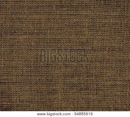 Donkey brown burlap texture background