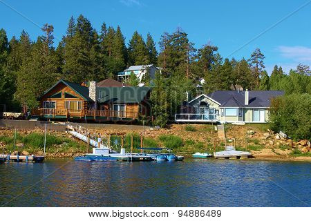 Homes on Lake