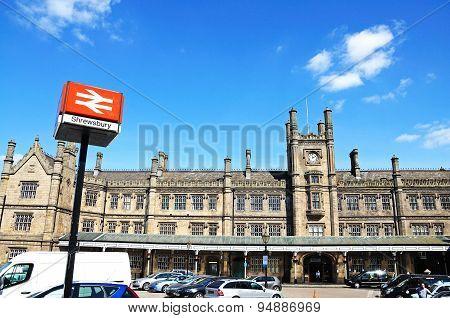 Shrewsbury Railway Station.