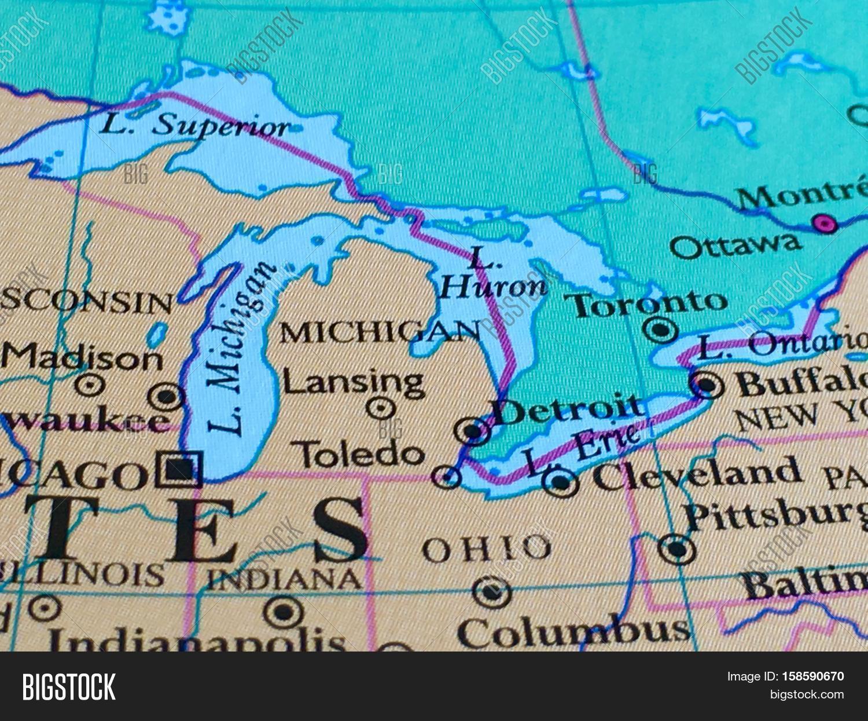 State Michigan Great Image & Photo (Free Trial) | Bigstock