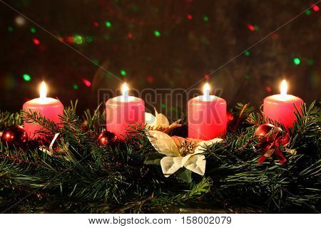Internationally Holidays /4.  Advent / Advent is a season observed in many Western Christian churches as a time of expectant waiting and preparation for the celebration of the Nativity of Jesus at Christmas.