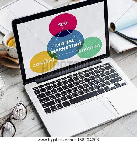 Business Branding Marketing Advertising Concept