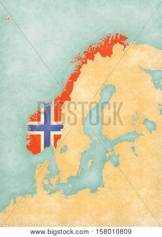 Map Of Scandinavia - Norway