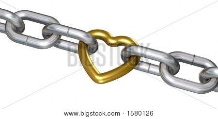 Golden Heart In Chains