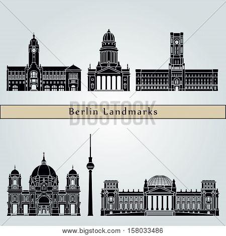 Berlin V2 Landmarks