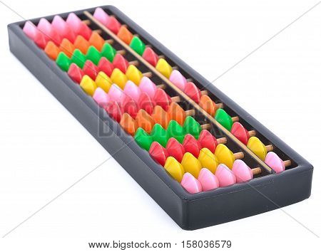 abacus, account, addition, calculate abacus isolated on white background