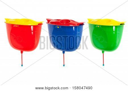 Color Plastic Wash Basins
