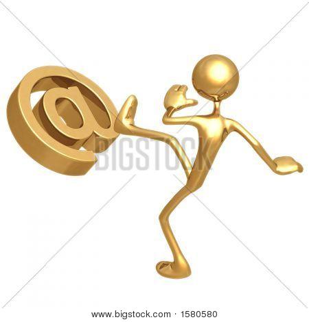 Kicking E-Mail