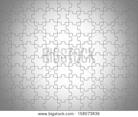 Puzzles pale white background in the gray transparent vignette.
