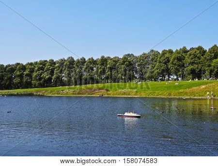 Inverleith Park In Edinburgh