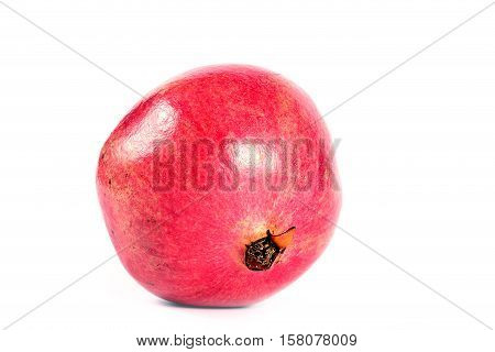 beautiful ripe tropical fruit pomegranate has beneficial vitamins