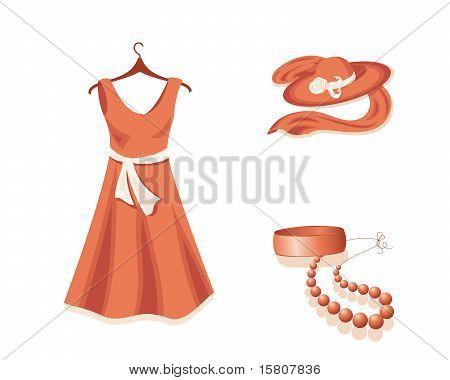 Woman wardrobe.