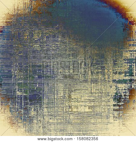 Abstract vintage colored background. With different color patterns: yellow (beige); brown; gray; green; blue; red (orange)
