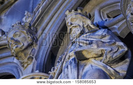 St Giles' Cathedral In Edinburgh