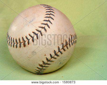 Baseball  Green Background