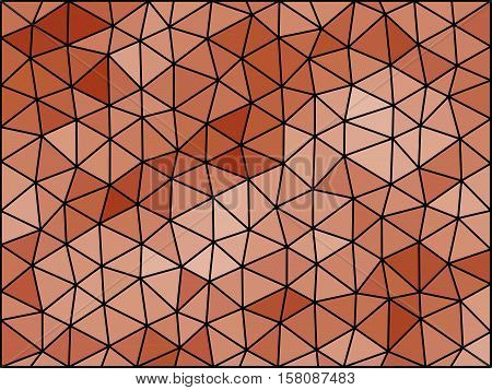Colors Low Poly Triangle Style Vector Mosaic Background