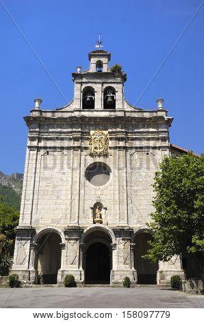 Sanctuary of Antigua Orduña Vizcaya Basque Country Spain