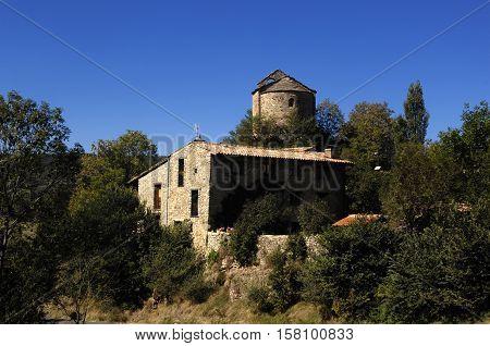 Church of Sant Julia de Pedra Pedra Cerdanya Girona Spain