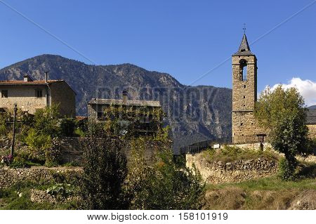Arseguel Arseguell Alt Urgell Pyrenees mountains Lleida Spain
