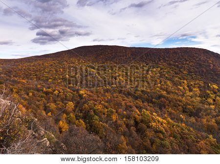 View of the hudson highlands from breakneck ridge trail New York State