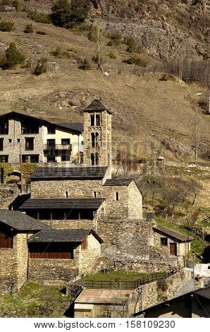 Historical Site of  village of Pal Andorra