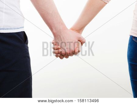 Couple Holding Their Hands.