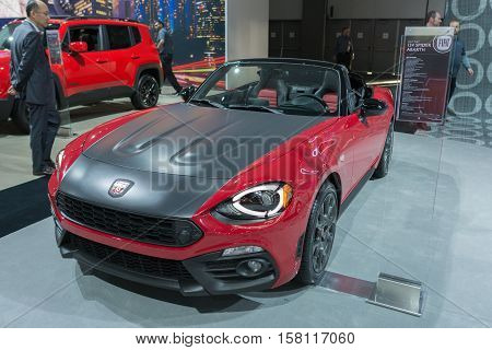 Fiat Abarth 124 Spider Convertible