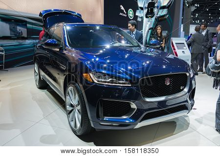Jaguar F-pace On Display