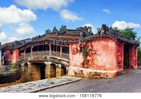 The Japanese Covered Bridge, Hoi An Ancient Town, Vietnam