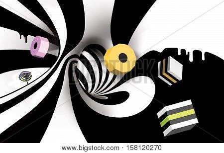 Joy, Laugh, abstract, background, art, lines, fairy tile, zebra, stripes
