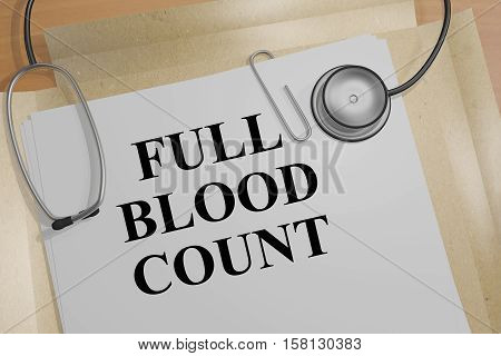 Full Blood Count - Medical Concept