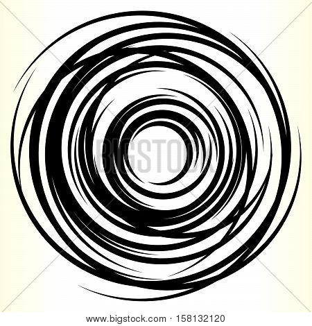 Geometric Circle Element(s), Abstract Random Circle Shape(s)