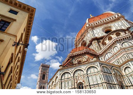 The Cathedral Of Saint Mary Of The Flower, Florence, Italy