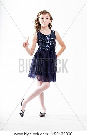 Girl Playing Top Fashion Model