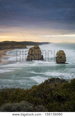 The Gibson Steps, 12 Apostles, Great Ocean Road, Victoria, Australia