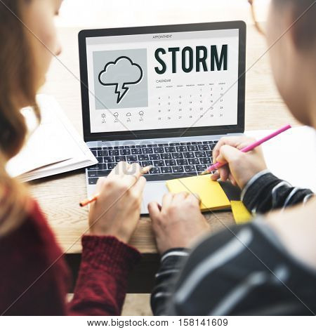 Forecast Overcast Weather Report