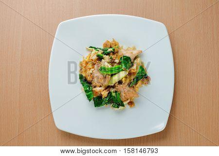 Pad See Ew (Thai Stir Fried Noodles)