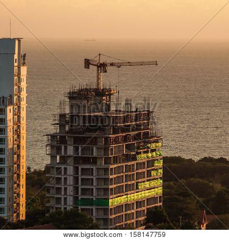 Building Construction for larger , Pattaya of Thailand