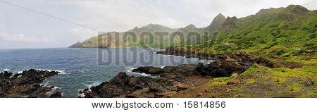 Mountainous Shore