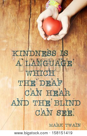 Kindness Quote Heart