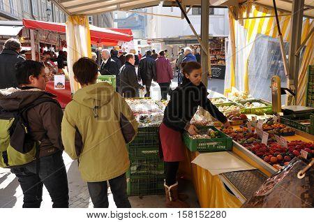 Salzburg's Christmas Market